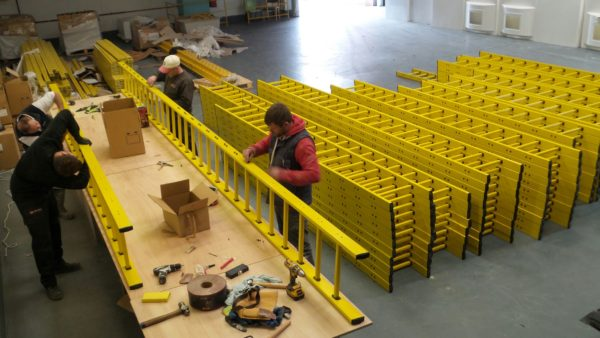GRP Access Ladders - HR Kiln