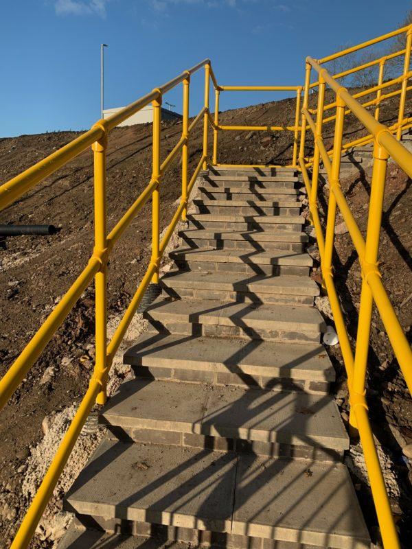 GRP Handrail System