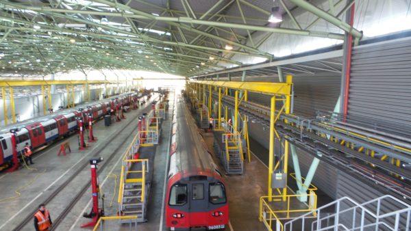 GRP Elevated Platform