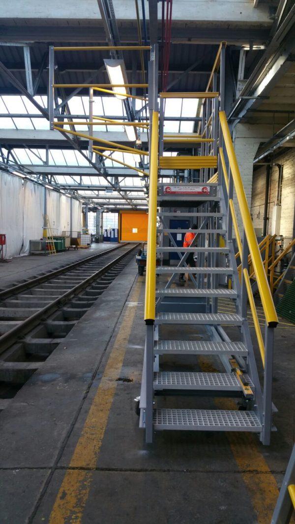GRP Walkway Platform