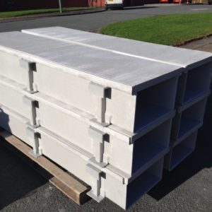 GRP fibrglass trough