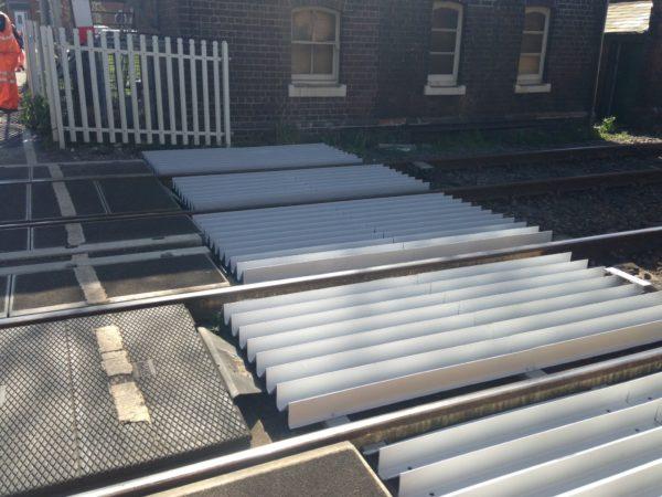 GRP anti-trespass panels