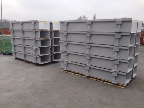 GRP Trough and Lid