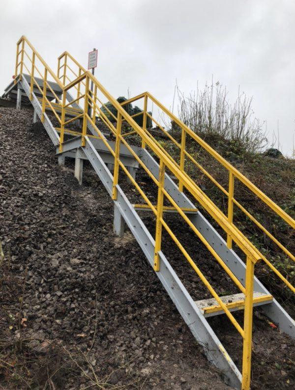 GRP steps