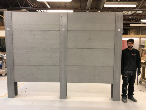 GRP Fencing Panels