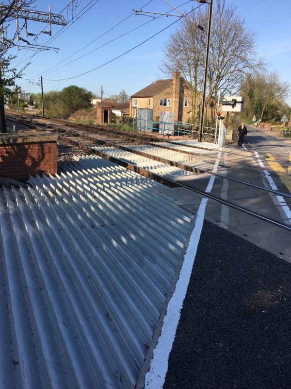 Anti-Trespass Panel