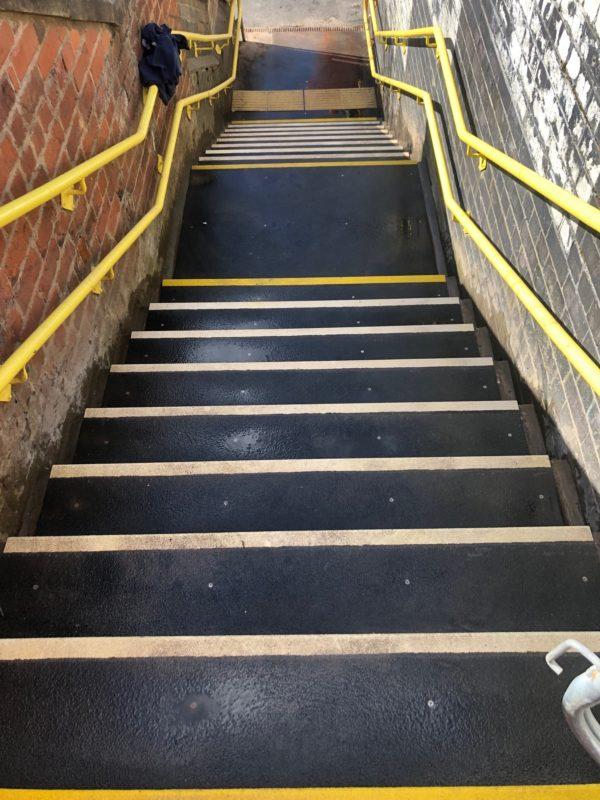 Walton Station - Anti-Slip Steps