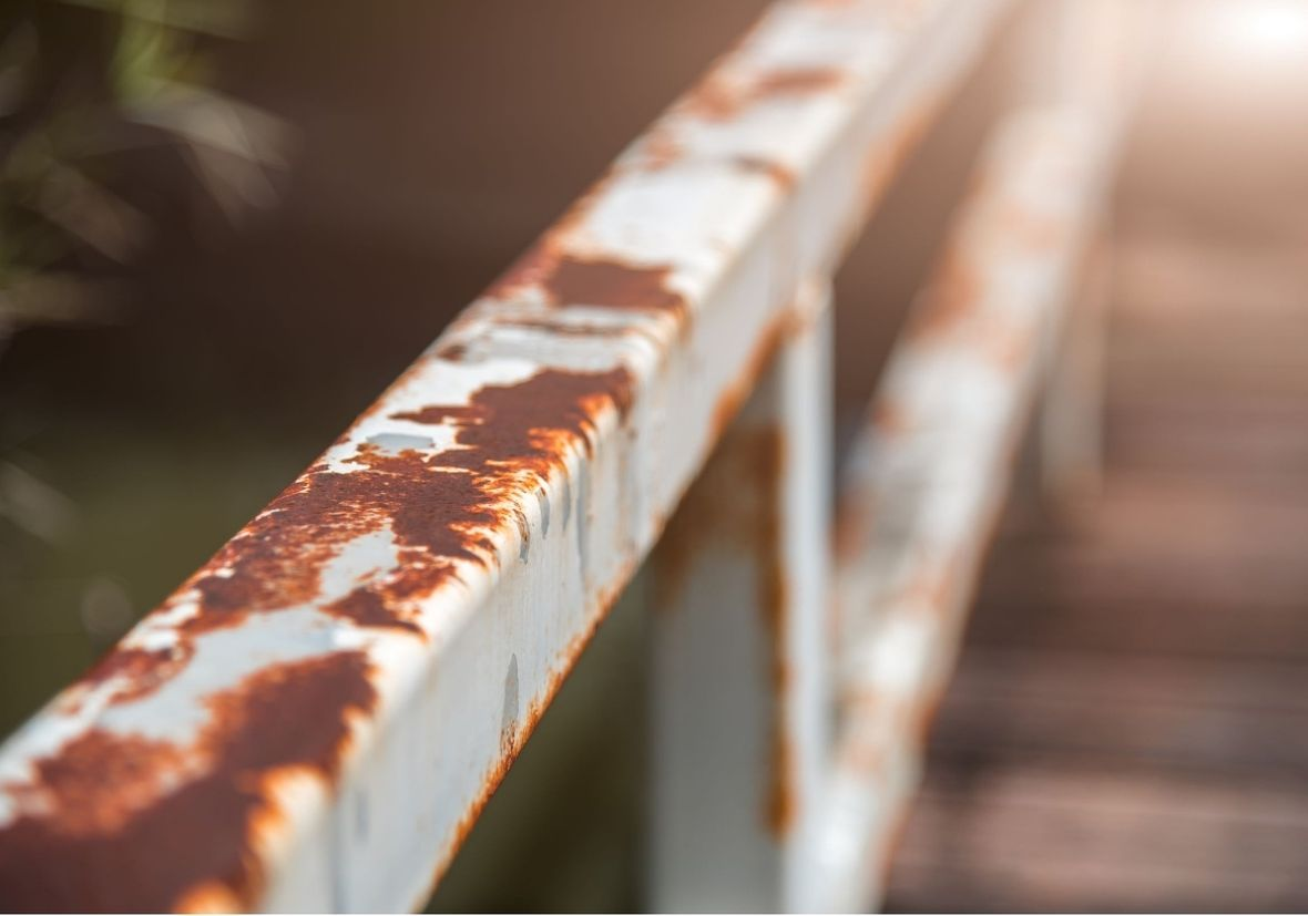 Corroded Railing