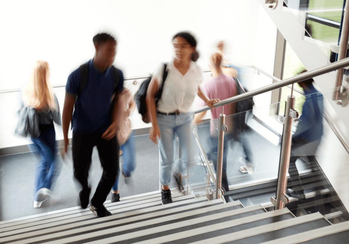 anti-slip GRP products in schools